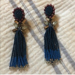NWOT Anthropologie beautiful beaded drop earrings!